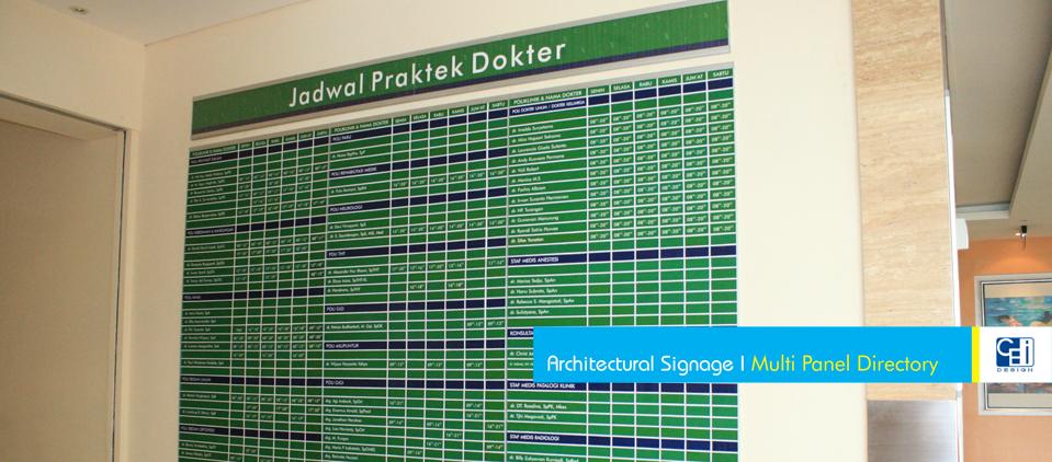 Multi Panel Directory